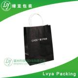 Le luxe de papier Kraft imprimé Shopping personnalisé à l'emballage transporteur des sacs en papier de cadeau pour l'emballage