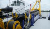 中国の高品質のカッターの吸引の浚渫船か沈泥の浚渫船の船