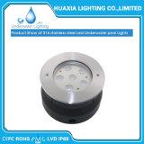 À prova de IP68 DC12V LED embutida em aço inoxidável Luz subaquática