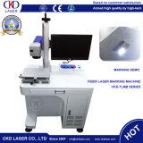 De Laser die van de vezel Machine voor Series Number Company Teken van het Aantal van de Firmanaam het Model op Metaal met de Certificatie van Ce merken