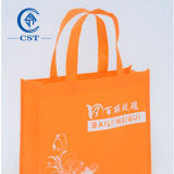 Sacos feitos sob encomenda recicl do Non-Woven do logotipo dos sacos de compra da forma