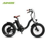 Neumático Fat 2018 48V 500W bicicleta eléctrica plegable