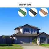 Mattonelle di tetto rivestite di pietra ondulate del metallo di Nosen di nuovo disegno