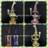 A tubulação de água de vidro de vidro popular a mais nova da tubulação de fumo do preço de fábrica