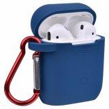 Heißes Verkaufs-Schwarz-Gummisilikon-Kasten für Airpods