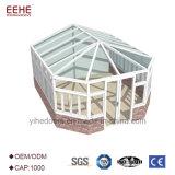 Kundenspezifische Aluminiumrahmensunroom-Patio-Gehäuse-Entwürfe für Garten