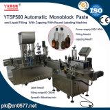 Machine à étiquettes recouvrante remplissante de Ytsp500 Monoblock pour l'alcool