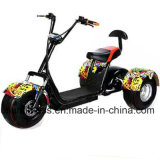 電気助手席/Pedicabの電気人力車/3車輪が付いている安い大人の電気三輪車