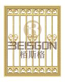 호화스러운 우수한 질 황금 색깔 SUS304 스테인리스 금속 Windows