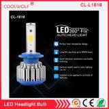 Kit 36W 3600lm 5000k de la conversión del bulbo de la linterna de la MAZORCA LED