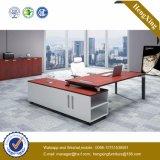 Mobília de escritório superior de vidro L tabela do escritório executivo da forma (HX-NJ5033)