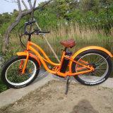 26''48V 500W Fat Playa motocicleta eléctrica de los neumáticos con suspensión