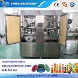 La reducción de la etiqueta de PVC totalmente automática Máquina de embalaje de botella
