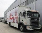 JAC 4*2 ausdehnbares Stadiums-LKW-Mobile 50 bis 70 M2-mobiler Stadiums-LKW