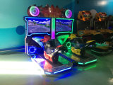 Parc de loisirs de l'équipement moto de course de 42 pouces Machine de jeu