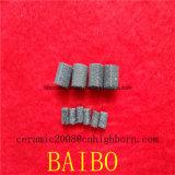 Tige de base de céramique poreuse pour le filtrage de la cigarette électronique