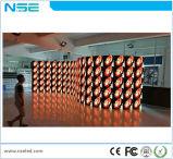 P2.5 P4フルカラーの創造的で適用範囲が広く柔らかい屋内LED表示モジュール