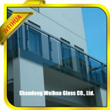constructeur de panneau de mur en verre Tempered de qualité de sûreté de 3-19mm avec Ce/CCC/ISO9001