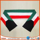Heißer Verkauf Stripes warmes Fußballfan gestrickten Schal
