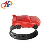 昇進の子供子供のためのプラスチック車の形の腕時計のおもちゃ
