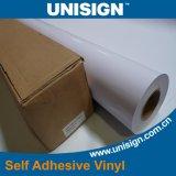 De Zelfklevende Vinyl Permanente Witte Lijm 80microns/120GSM van pvc/Grijze Lijm