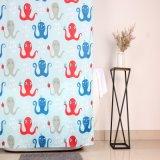 Venda por grosso de banho de tecido impresso chuveiro cortina da janela de personalização