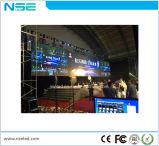 P4.81 실내 임대료 발광 다이오드 표시 스크린은, 주조 알루미늄 LED 내각을 정지한다
