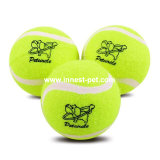 Pelota de tenis accesoria del perro de la fuente del producto del animal doméstico, juguete del perro de animal doméstico