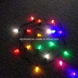축제 집 훈장 110V 220V C7 C9 LED 크리스마스 끈