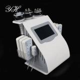 6 dans 1 cavitation explosive de graisse de vitesse de vide ultrasonique de cavitation amincissant la machine de beauté