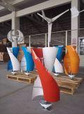 Tre turbina verticale del generatore di vento di asse di colori 100W per la casa