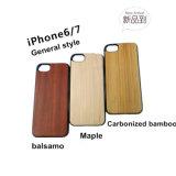 El grabado más vendidos funda de teléfono móvil de madera, madera Shell para iPhone, accesorios para teléfonos móviles