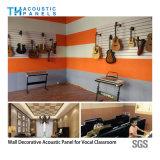 Comitato di parete acustico decorativo della fibra di poliestere della prova di fuoco/comitato di soffitto
