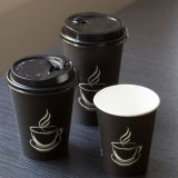 Venta caliente de alta calidad 16oz desechables de papel Café Taza para beber