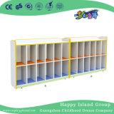 Школа яркие цвета деревянной трех уровней мешки шкаф (HG-5412)