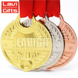 싼 도매 주문 포상 스포츠 금 은 구리 청동 금속 메달