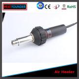 1600W Machine van het Lassen van het Venster van de Hete Lucht Gun/PVC van de temperatuur de Regelbare Plastic