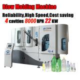 Máquina de moldagem de sopro de garrafa de água mineral de plástico de servo automático de alta velocidade