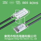Interruttore bimetallico di temperatura per il trasformatore