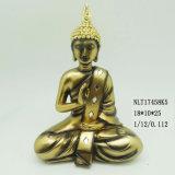 Muffa piccolo Buddha della statua della rana pescatrice di Buddhism per la decorazione domestica