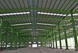 Het hete Pakhuis van het Frame van de Structuur van het Staal van de Lage Kosten van de Verkoop met de Bekleding van het Comité van de Sandwich