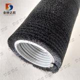 Rotation de rouleau en nylon Brosse industrielle pour le lavage des oeufs