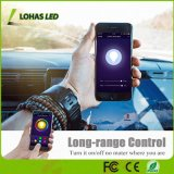 Travail multicolore des lumières 8W de Lohas Br20 avec l'ampoule de Dimmable de contrôle de smartphone d'Alexa
