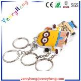 Kundenspezifisches Silikon-Gummischlüsselkette für Verkäufe