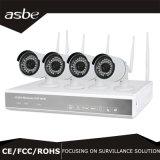 câmera sem fio do CCTV da segurança do jogo de 4CH 1080P WiFi NVR