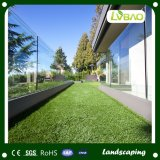 Certificado CE verde natural del Jardín de Césped Artificial Césped Carpert