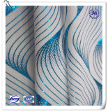 Tela de la impresión de la hoja de la tela del Spandex del poliester para el traje de baño