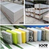 Surface de marbre artificielle de solide de pierre de résine de feuille de Kkr