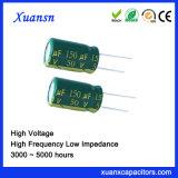 hoge Frequentie van de 150UF50V 5000hours de Elektrolytische Condensator
