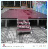 カスタマイズされた段階の床のAdjustbaleの段階デザイン